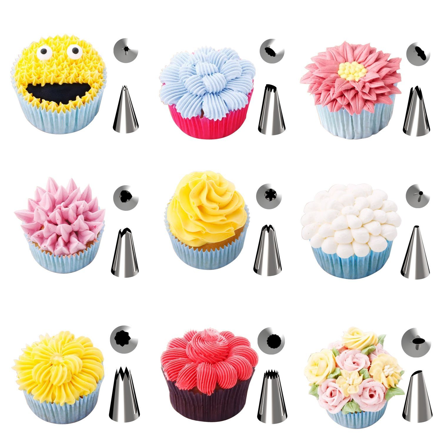 Everyone likes these kinds of cake decorating kit tips ...
