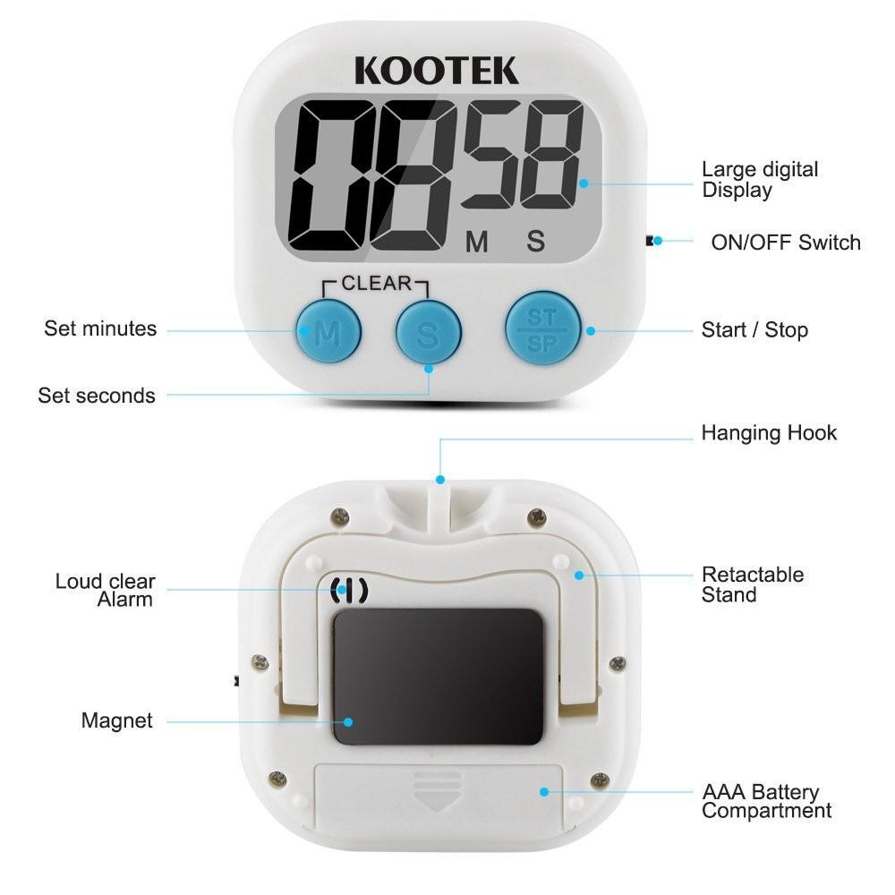 Buy A Simple Digital Kitchen Timer & Kitchen Clocks | http://www ...