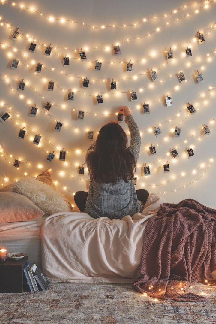 Interior Ideas For Pictures easy indoor string lights decoration ideas httpikootek comblog wall with light