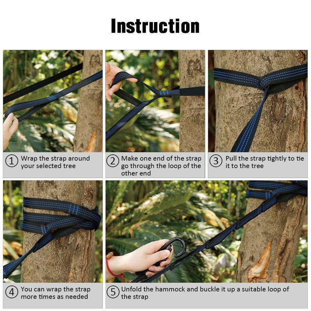 eno hammock setup instructions
