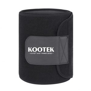 Kootek Waist Trimmer Sweat Belt Stomach Wraps for Weight Loss Ab Belt for Women & Men, Premium Slim Belt Waist Trainer Workout Enchancer